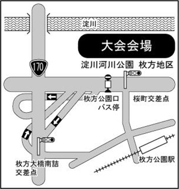 会場近隣地図