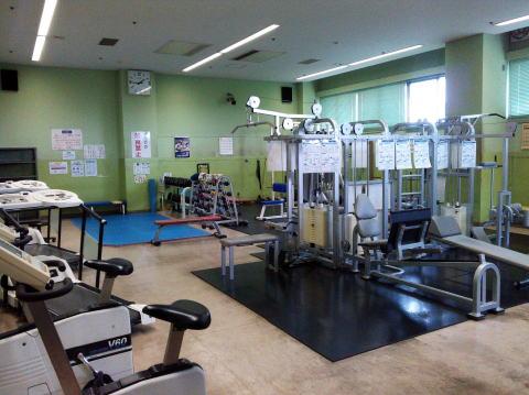 枚方市総合体育館 トレーニング室の画像